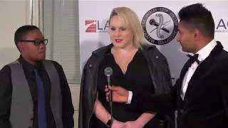 lacc awards show red carpet interviews