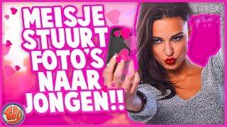MEISJE STUURT FOTO'S NAAR JONGEN!! - Versieren of Verstieren