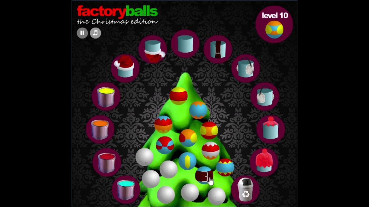 Factory Balls Christmas.Factory Balls Christmas Edition Level 10 Cool Math Games Walkthrough
