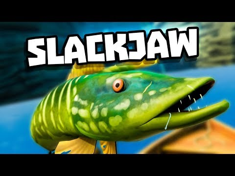 CATCHING SLACKJAW, THE LEGENDARY FISH! - Catch & Release Gameplay - VR HTC Vive Pro