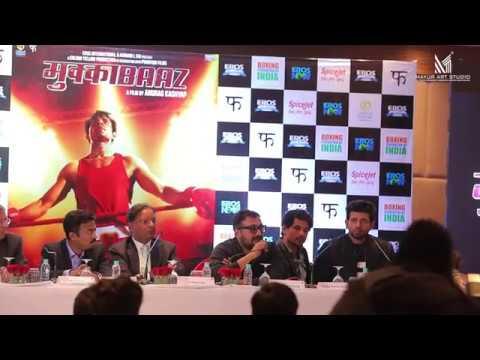Mukkabaaz Press conference Delhi | full...