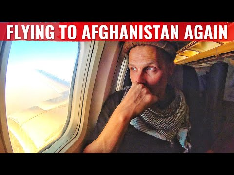 RISKING MY LIFE FLYING AFGHANISTAN's NATIONAL AIRLINE - ARIANA AFGHAN 737!
