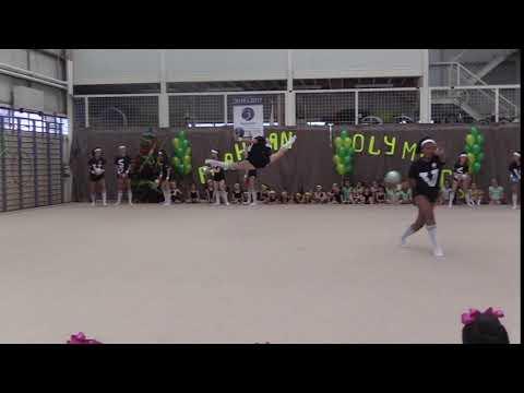 Split Arch Leap, slow motion !! Oversplit - Alexandra Kiroi-Bogatyreva
