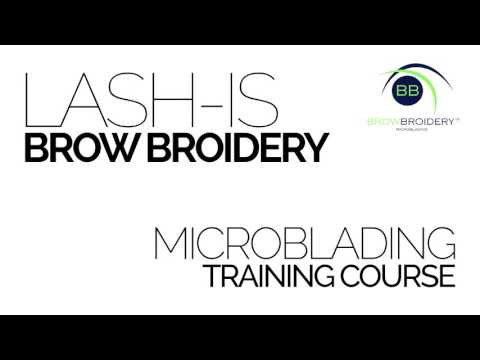 Lash-Is Brow Broidery Promo Video - For Web and Tradeshows