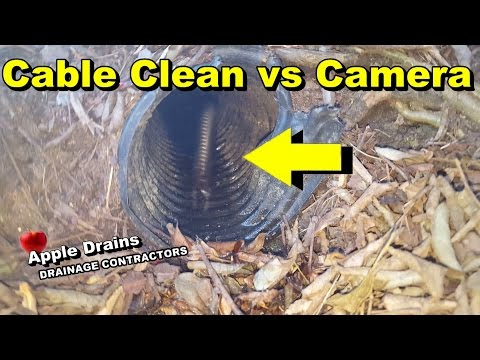 Downspout Drain Cleaning in Princeton