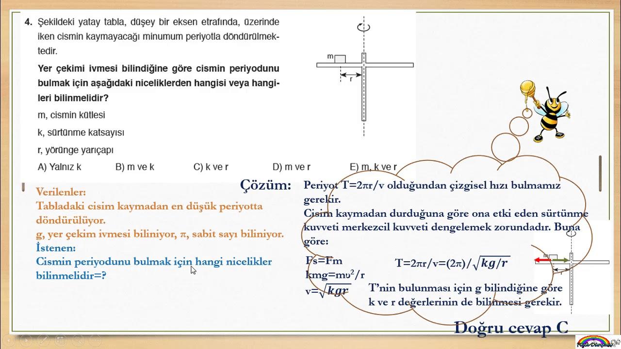 Fizik 12 Sınıf 1 ünite Soru çözümleri 2 Youtube