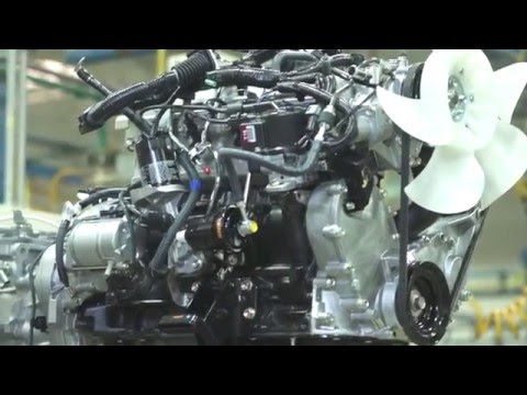 Toyota Forklift 4Y Engine - YouTube