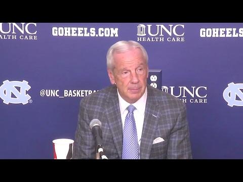 UNC Men's Basketball: Roy Williams Post Virginia