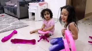 جوجو رمت الطفله روزي خارج المنزل