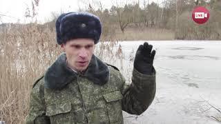 Слонимчанин Владимир Двоежонов спас тонущего дедушку (2018)