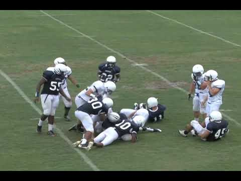 "Stephen ""Blake"" Davis Spring 2011 football highlights"