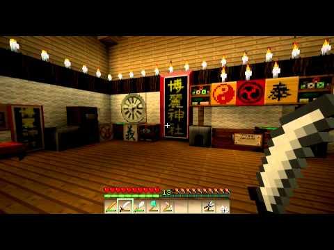 minecraft dojo temple japonais youtube. Black Bedroom Furniture Sets. Home Design Ideas