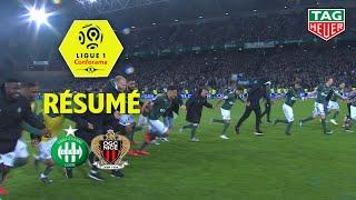 AS Saint-Etienne - OGC Nice ( 3-0 ) - Résumé - (ASSE - OGCN) / 2018-19
