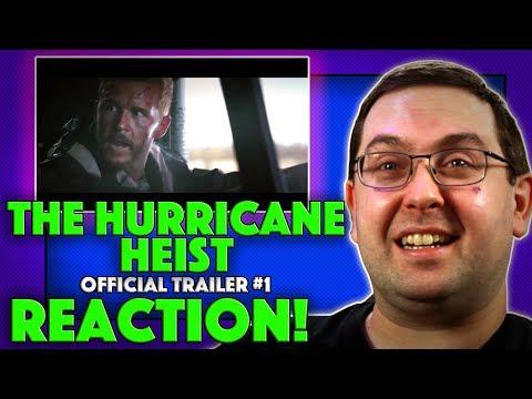 REACTION! The Hurricane Heist Trailer #1 – Toby Kebbell Movie 2018
