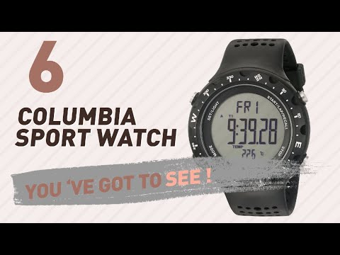 Columbia Sport Watch For Men // New & Popular 2017