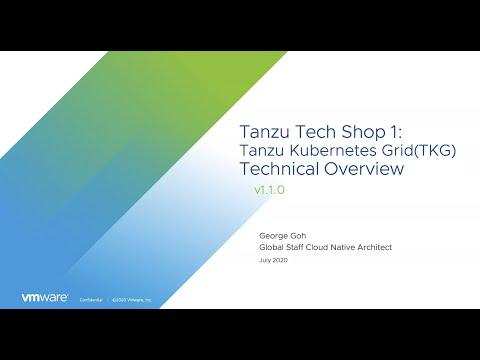 Tanzu Tech Shop: Deploying and Managing a Kubernetes Application Platform