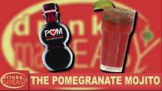 How To Make A Pomegranate Juice Mojito Cocktail-drinks Made Easy