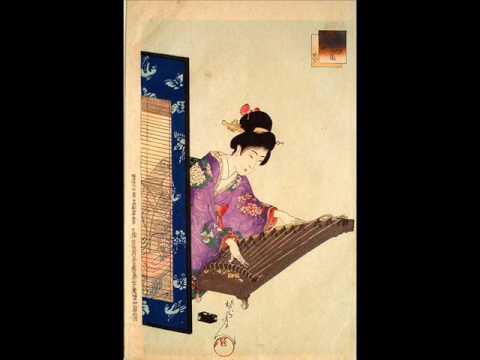 Minoru Miki - Rhapsody for twenty-string koto (extract)