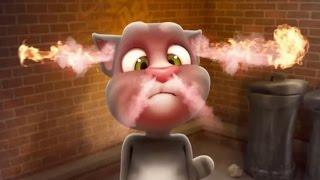 Говорящий Кот Том часть 1 - Мультфильм Игра