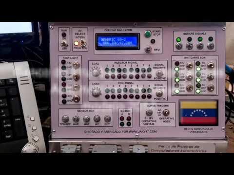 Muestra R Pida De Banco De Pruebas De Computadoras