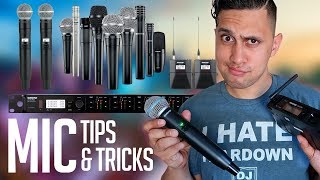 DJ Tips: The best Microphone for Mobile DJs | How to be a better MC?