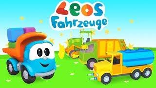 Leos Fahrzeuge - Spiel Gameplay -  Wir bauen Spielzeugautos