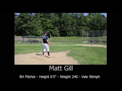 Matt Gill Baseball Video