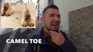 """Co to znaczy """"camel toe"""" i jak to się używa jako slang w Stanach? Nagrane w Granadzie, España Dzięki za wasze wsparcie i za wasze darowizny!!! To mi ..."""