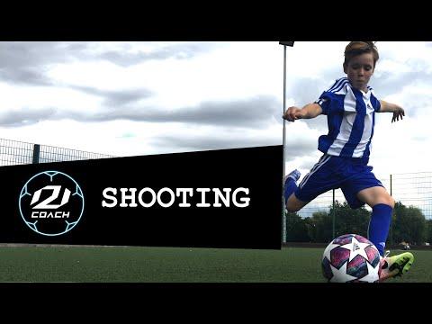 AC Milan Soccer Schools - Lesson 4 - Shooting
