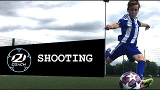 AC Milan Soccer Schools - Lesson 4 - Shooting