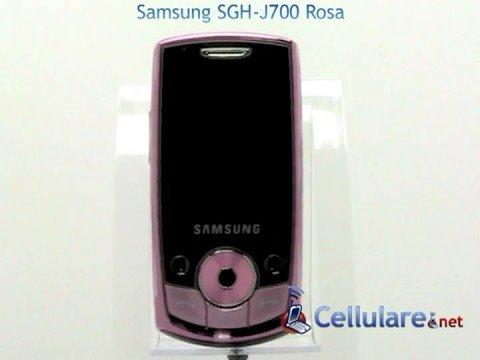Samsung SGH-J700 Rosa
