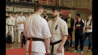 Бой за первое место   Чемпионат Камчатского края по Киокушинкай карате