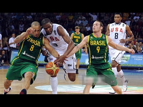 USA vs Brazil 2010 FIBA World Basketball Championship Group Game HD 720p FULL GAME English