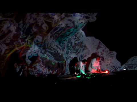 mathew emmett + eberhard kranemann FULL DOME PERFORMANCE