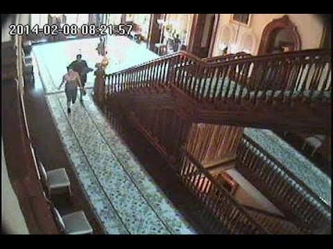 Iolani Palace surveillance video