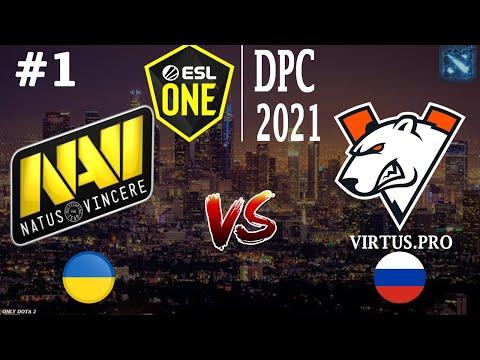 БИТВА ЗА ТОП 1 СНГ! | Na`Vi Vs VP #1 (BO3) By NS | ESL One DPC 2021