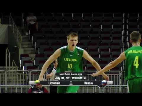 2011 FIBA U19 World Championship Semi Final Preview