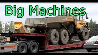 volvo bm a30 dumper vs scania truck volvo 210b excavator big machines