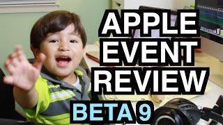 Apple Keynote 2014 October Event Review  iPad Air 2  iMac 5k Retina  BETA 9