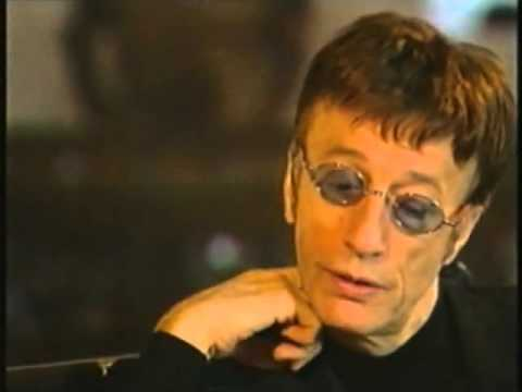 Robin Gibb Interview Part I