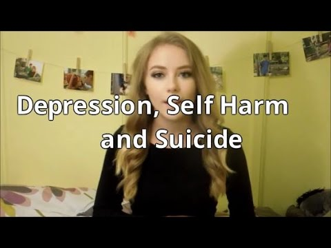 Depression, Self Harm and Suicide-My Story