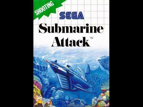 Submarine Attack (PAL) - SEGA Master System