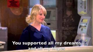 The Big Bang Theory Howard sings to Bernadette with lyrics S07E06