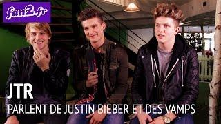 JTR parlent de Justin Bieber et des Vamps en interview