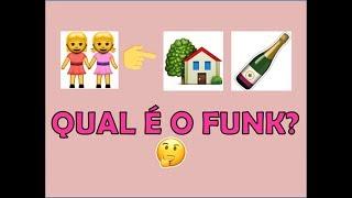 Adivinha a música com emoji funk
