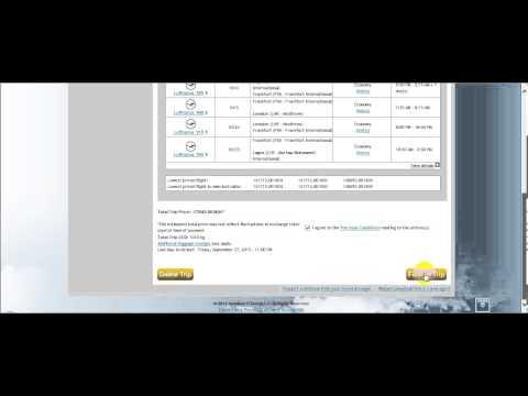 AeTM booking