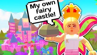 BUYING A HUGE FAIRY CASTLE JUST FOR ME 🧚🏰 // Roblox Fairy World Update
