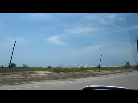 2008 Hurricane Ike damage in Texas