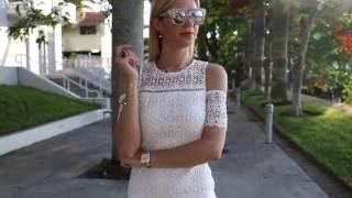 Little White Dress || Weekend Wear Lookbook