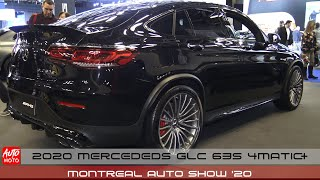 2020 Mercedes GLC 63S Coupe - Exterior And Interior - Montreal Auto Show 2020